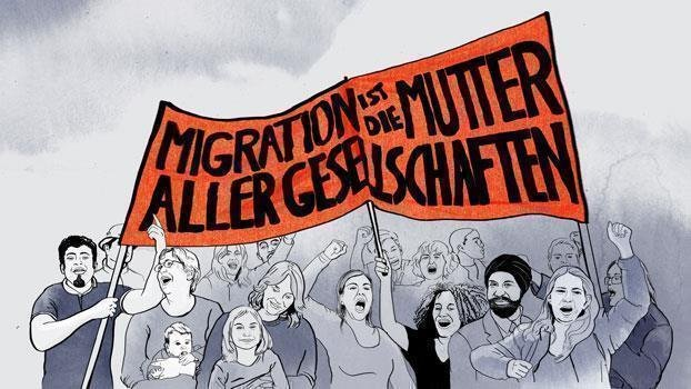 Comic Migrationspolitik