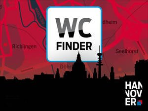 WC-Finder Logo der App